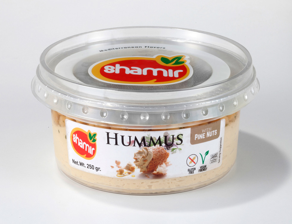 Hummus Abu-Gosh with Pine nuts (MP-42)